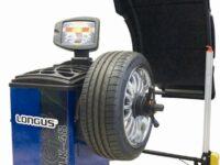 Radauswuchtmaschinen von Longus mit aktualisierter Software und neuer Optik