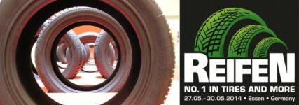 Branchen-Treff: 'Reifen 2014' in Essen mit rund 670 Ausstellern