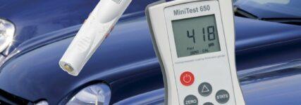 Messgeräte von Elektro-Physik für die zerstörungsfreie Schichtdickenmessung
