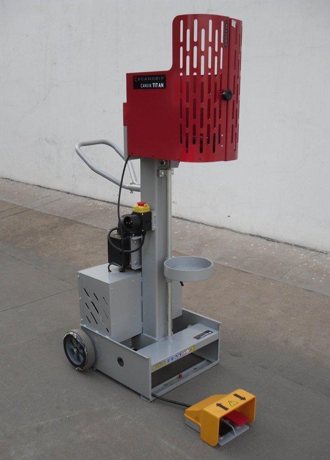 Elektrohydraulischer Antrieb bei Federspannerstation 'Canvik Titan ...