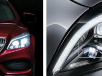 Premiere: Multibeam-LED-Scheinwerfer in der neuen CLS-Klasse von Mercedes