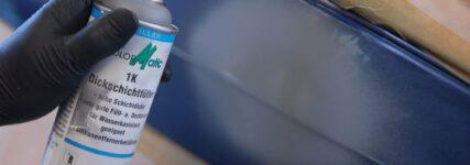 In der Spraydose: 1K-Dickschichtfüller von Motip Dupli für Spot Repair