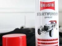 Startwunder: Kaltstartspray von Ballistol