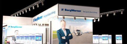 Borg-Warner zeigt in Frankfurt neueste Turbotechnik, AGR-und Lüftersysteme
