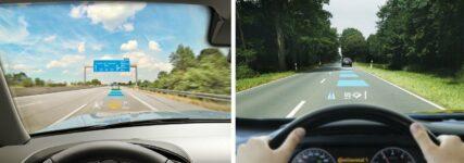 Continental: Augmented Reality ergänzt Außenansicht durch virtuelle Hinweise