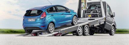 Fahrzeugtransport: Eder-Gruppe präsentiert 'Blitzlader R' auf der Automechanika