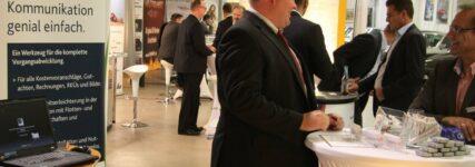 Werkstatt- und Autohausbetreiber beim 'Netzwerk für Service' in Nürnberg