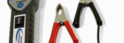 Multitester von Hansewerkzeug mit auswechselbarer Prüfspitze