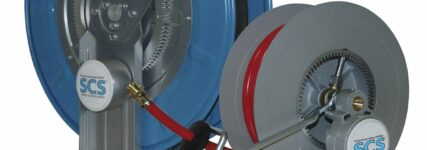 Mehr Sicherheit durch Automatik-Schlauchaufrollersystem von Rapid