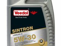 Longlife-Motoröl von Veedol mit Kraftstoffersparnis im Teil- und Vollastbetrieb