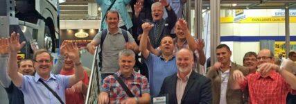 Blitz-Rotary bei der Automechanika als 'Beste Hebebühnen-Marke' ausgezeichnet