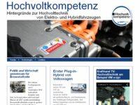 Neue Themenseite von KRAFTHAND zur Elektromobilität
