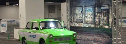 Automechanika: Umbau eines Fiat und Trabant zum E-Mobil bei Karabag