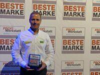 'Mann-Filter'zur besten 'Profi-Werkstatt-Marke des Jahres 2014' gewählt