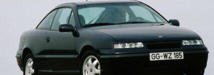 25 Jahre Opel Calibra: Coupé mit geringem Windwiderstand