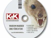 Anschauliche Vermarktung: 3D-Animation auf DVD von K&K über Marderabwehr
