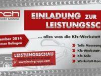 Messe: Kfz-Teilegroßhändler Lorch präsentiert Trends und Innovationen