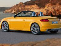 Audi TT und TTS Modelle stehen auf Schlappen von Hankook