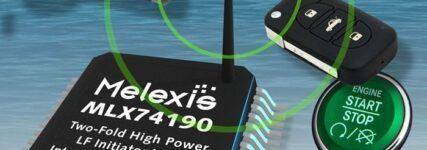 Motorstart per Funk mit Niederfrequenz-(LF)-Pulsgeber von Melexis