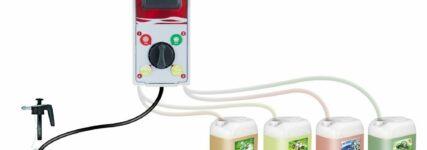 Makra: Dosierstation für Wasch- und Reinigungsprodukte