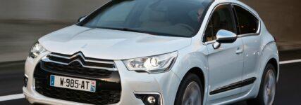 Citroën: DS4 mit neuen Euro 6-Motoren