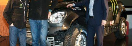 MINI verlängert Engagement bei der Rallye Dakar bis 2017.