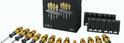 Wera vereint 13 Schraubmeißel aller gängiger Schraubprofile im 'Big Pack 900'