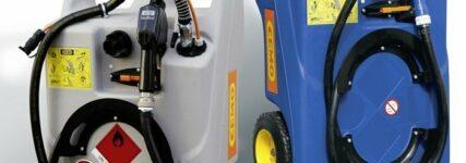 Trolleys von Cemo zum sicheren Nachfüllen von AdBlue und Kraftstoffen