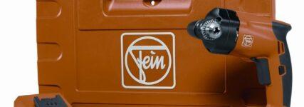 Fein stellt neue Winkelbohrmaschinen mit Pistolengriff vor
