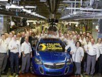 Jubiläum in Rüsselsheim: Der 750.000ste Opel Insignia rollt vom Band