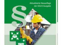 Neuauflage der 'Aushangpflichtigen Unfallverhütungsvorschriften' erschienen