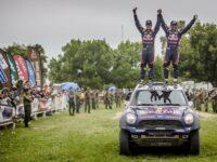 Längs- und Seitenantriebswellen: GKN rüstet die Sieger der Rallye Dakar 2015 aus