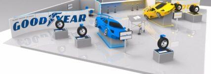 Streiflicht Genf: Goodyear-Reifen erzeugt eigenen Strom