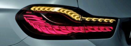 Osram: Heckleuchten mit organischen Leuchtdioden für den BMW M4