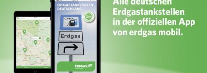 Erdgastankstellen-App von Erdgas Mobil jetzt auch für Android