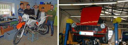 Starthilfe: Kfz-Betrieb R&R hilft Jugendlichen mit brüchigem Lebenslauf