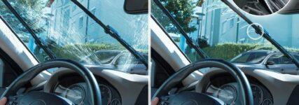 Intelligente Scheibenreinigung: 'Jet Wiper' von Bosch nutzt jeden Tropfen