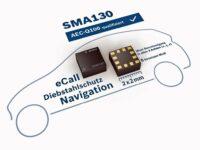 Bosch: Neuer Beschleunigungssensor 'SMA130' für Infotainment und Navigation