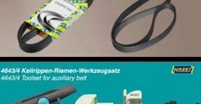 NTN-SNR und Hazet: Spezialwerkzeug verhindert Schaden am Keilrippenriemen