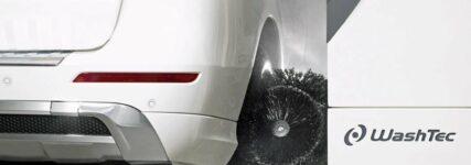 Radwäscher 'Twister' von Washtec für glänzende Aluscheibenräder