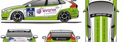 24h-Rennen: Volvo V40 D5 von Heico-Sportiv läuft mit Biodiesel
