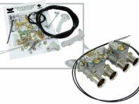 Kabelzug-Anbausatz für Weber-Vergaser von Webcon