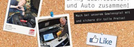 Qualitätsteil sucht Auto: Gewinnspiel von Febi und Blue Print