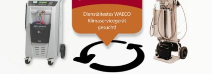 Dienstältestes Waeco-Klimaservicegerät gesucht