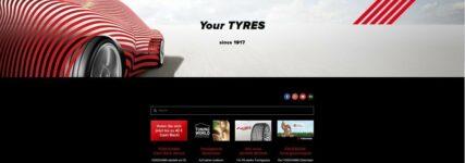 Neu gestaltete Homepage von Yokohama Reifen