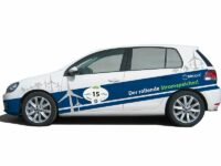 Meyle bei Elektromobil-Rallye