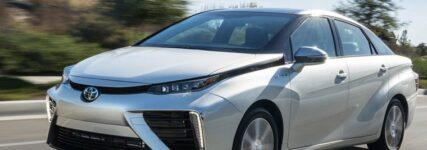Brennstoffzellenfahrzeug Toyota Mirai hat Premiere auf der IAA