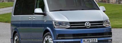 VW T6 mit weniger Durst: Der neue Bulli steht in den Showrooms