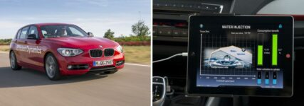 BMW stellt Prototypen mit direkter Wassereinspritzung vor