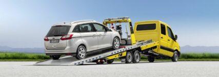 Algema Slider: Abschleppfahrzeug mit Knickmechanismus und Schiebeplateau